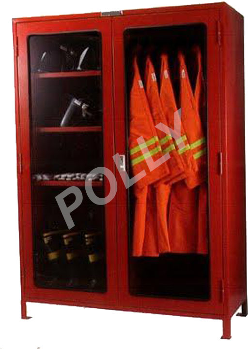 Fire cloth cabinet